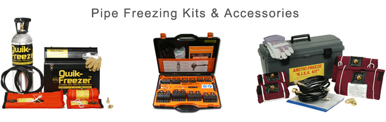 PipeMan Products, Inc. Offers Pipe Freezing Kits & Accessories