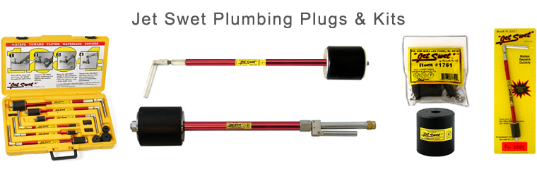 PipeMan Products, Inc. Offers Jet Swet Plumbing Plugs & Kits